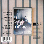 Neurotic Outsiders - Neurotic Outsiders (back cover)