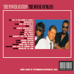 Power Station - The House Of Blues (back cover)