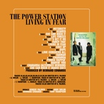 Power Station - Living In Fear 2LP (back cover)
