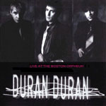 Duran Duran - Live At The Boston Orpheum (cover)