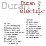 Duran Duran - Electric Factory (back cover)