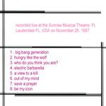 Duran Duran - Ft. Lauderdale 1997 (back cover)