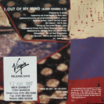Duran Duran - Out Of My Mind (back cover)