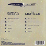 Missing Persons - Back 2 Back Hits (back cover)