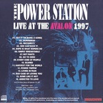 Power Station - Live At The Avalon 1997 (back cover)