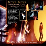 Duran Duran - Live In San Jose (back cover)