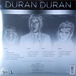 Duran Duran - Thanksgiving Live - The Ultra Chrome, Latex And Steel 2LP (back cover)