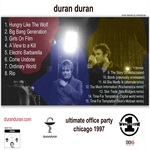 Duran Duran - VH1 Ultimate Office Party (back cover)