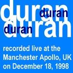 Duran Duran - Manchester Apollo (back cover)