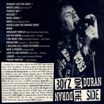 Duran Duran - Boyz On The Side (back cover)