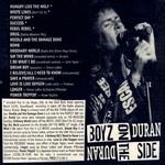 Duran Duran - Boyz On The Side (back cover)