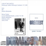Duran Duran - Live At The Castle Edinburgh (back cover)