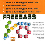 Roger Taylor Freebass - Love Is Like Oxygen (back cover)