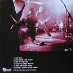 John Taylor - Terroristen 5.30.98 (back cover)