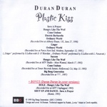 Duran Duran - Plastic Kiss (back cover)