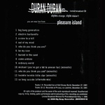Duran Duran - Pleasure Island (back cover)