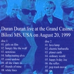 Duran Duran - Biloxi (back cover)