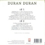 Duran Duran - Original Gold (back cover)