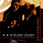 Duran Duran - Hard Rock Live LP (cover)