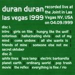 Duran Duran - Las Vegas 1999 (back cover)