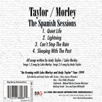 Andy Taylor - The Spanish Sessions (back cover)