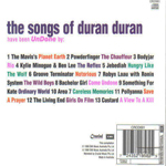 Tribute - UnDone: The Songs Of Duran Duran (back cover)