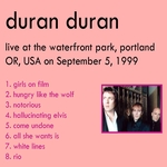 Duran Duran - Waterfront Park 1999 (back cover)