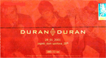 Duran Duran - Ticket - Zagreb 2001 (cover)
