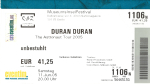Duran Duran - Ticket - Berlin 2005 (cover)