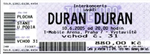 Duran Duran - Ticket - Prague 2005 (cover)