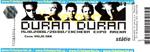 Duran Duran - Ticket - Bratislava 2006 (cover)